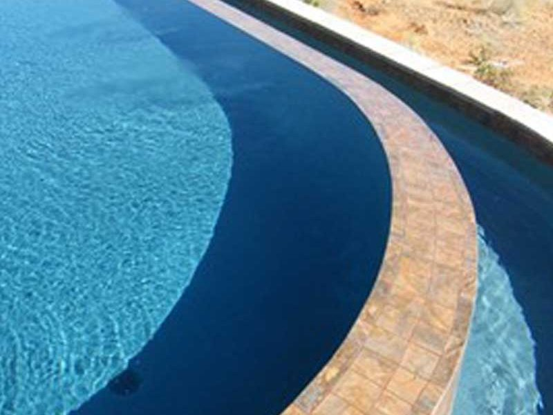 over the edge pool